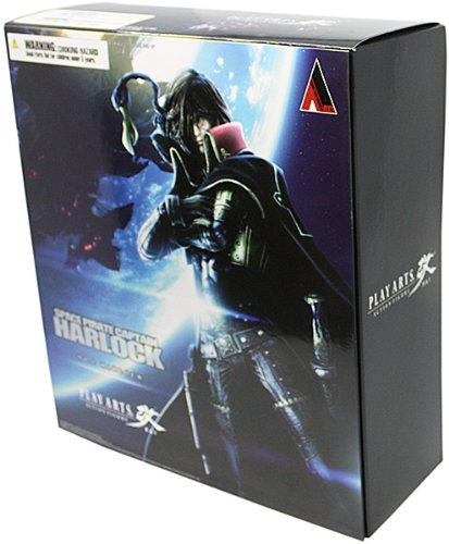 Space Pirate Captain Harlock Figure Play Arts