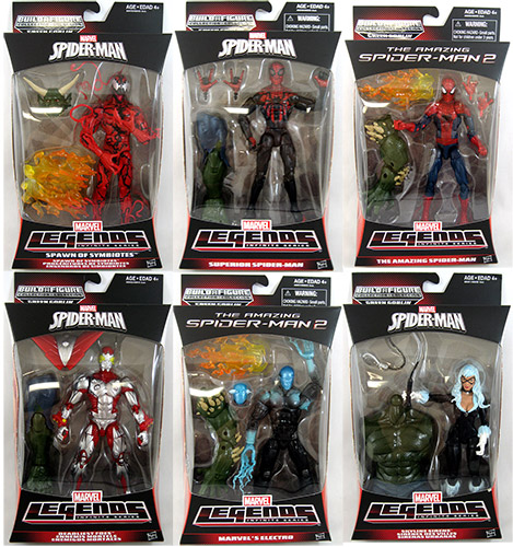 Spider-Man Marvel Legends Infinite Figures