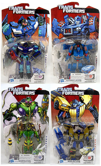 Transformers Generations 2014 Figures