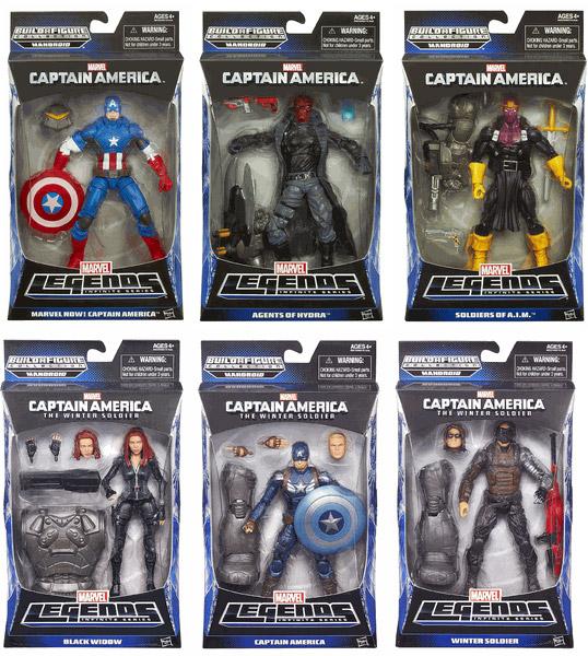 Captain America Winter Soldier Marvel Legends Infinite Figures