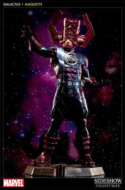 Galactus Sideshow Statue
