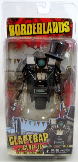 Gentleman Caller ClapTrap Borderlands