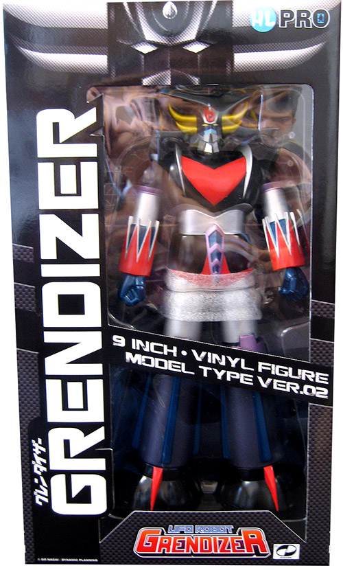 Grendizer Model Type Version 2 Figure