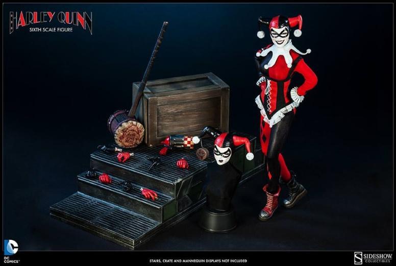 Harley Quinn Sideshow 12 inch Figure