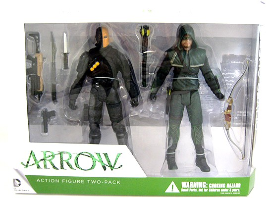 Oliver Queen and Deathstroke Figures