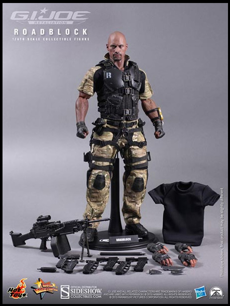 Roadblock GI-Joe Hot Toys Figure
