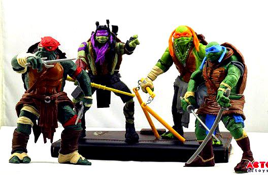 Teenage Mutant Ninja Turtles Movie Figure