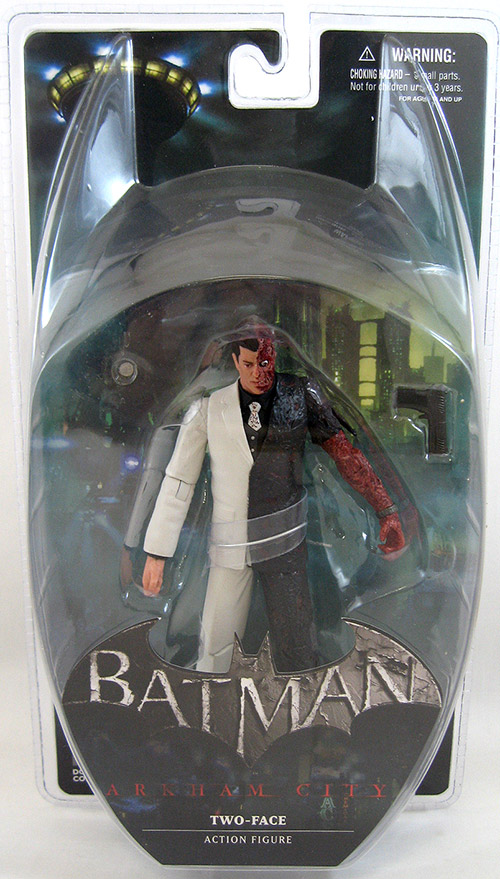 Two Face Batman Arkham City Figure