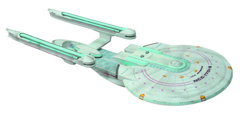 U.S.S. Enterprise NCC-1701-B Battle Damaged