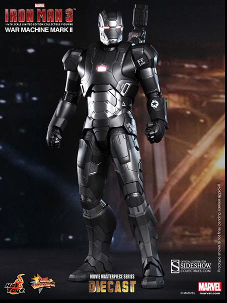 War Machine Mark II Hot Toys Figure