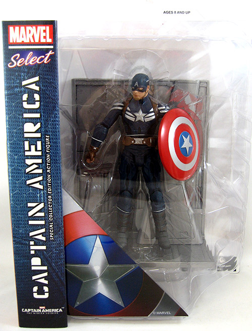 Captain America Stealth Uniform (Movie Version)