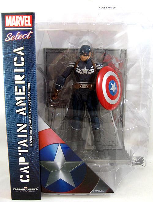 Captain America Stealth Uniform (Movie Version)
