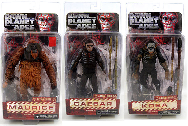 Dawn of The Planet Of The Apes Movie Figures