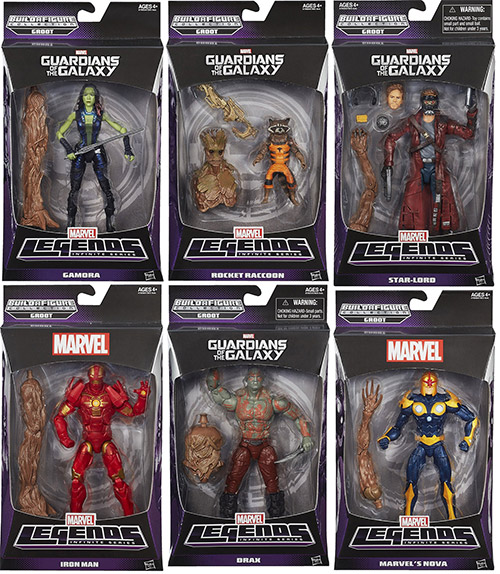 Guardians of the Galaxy Figures