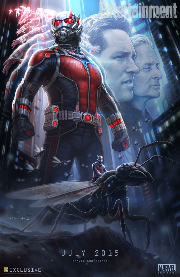 Ant Man Mmovie Poster
