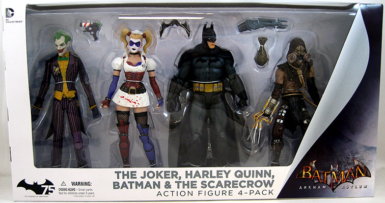 Batman Arkham Asylum Box Set