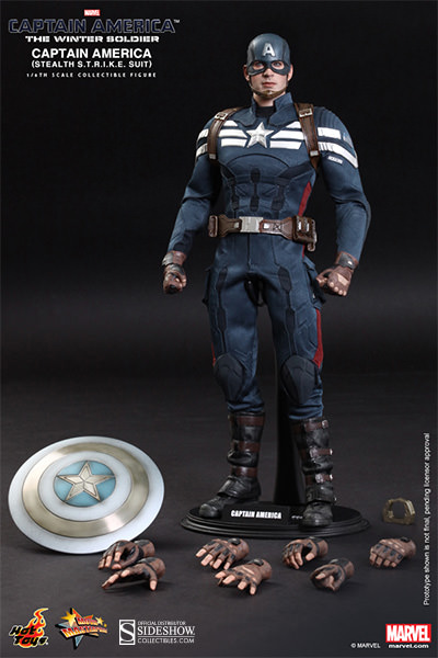 Captain America Hot Toys Winter Soldier
