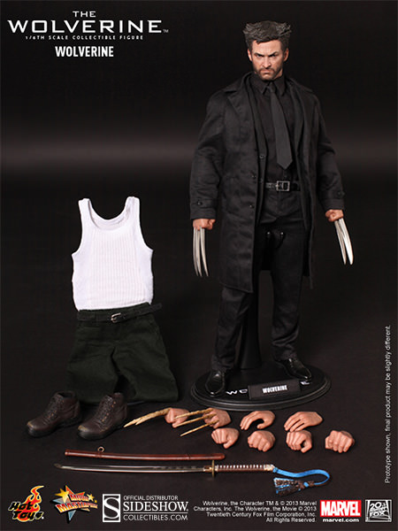 Hugh Jackman Wolverine Hot Toys