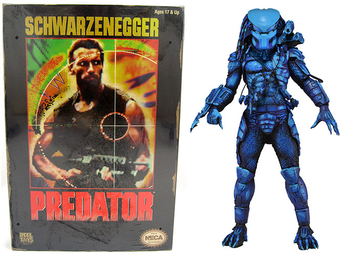 Jungle Hunter Predator NES Figure