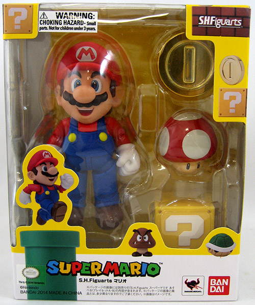 Super Mario Figma Figure Bandai