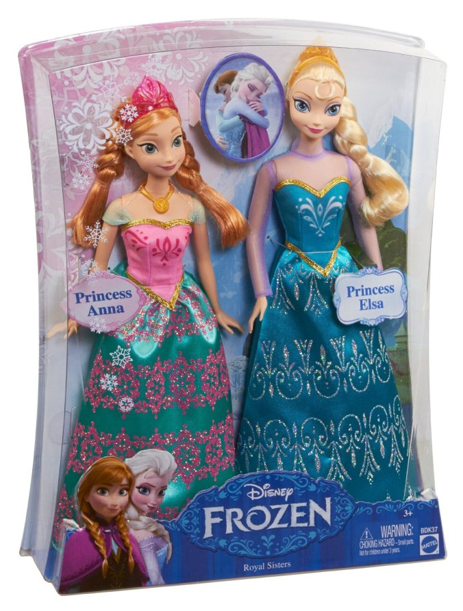 Frozen Toys R Us : Disney frozen royal sisters doll set featuring anna and