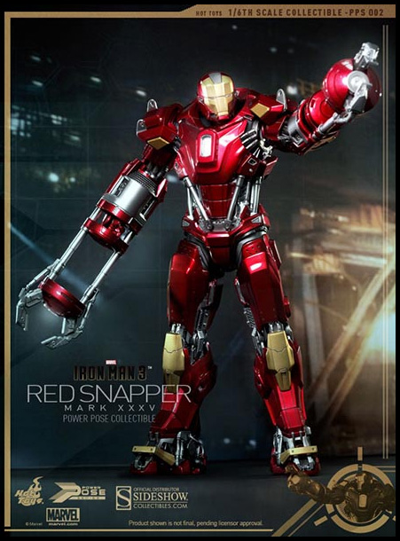 Red Snapper Mark XXXV Iron Man Suit