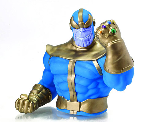 Thanos Bust Coin Bank