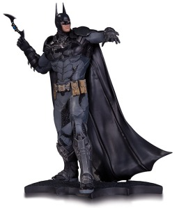 Batman as visualized in the fourth game in the Arkham series, coming in spring.